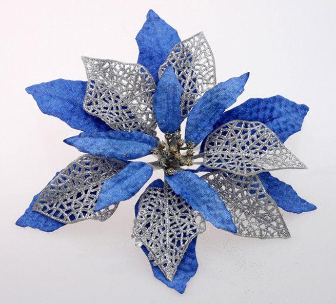 The Christmas Tree Decorated Christmas Flower Six Pack / Christmas Tree Widget Christmas Gifts Christmas Flower Wedding Decoration C