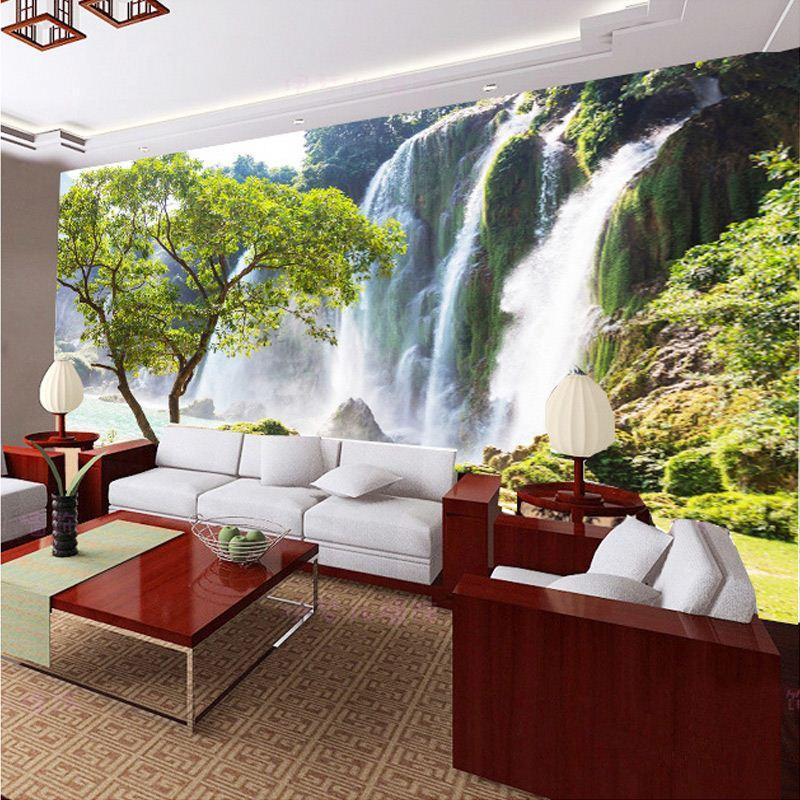 Compre papel de la pared del paisaje encargo de la foto for Papel pintado paisajes