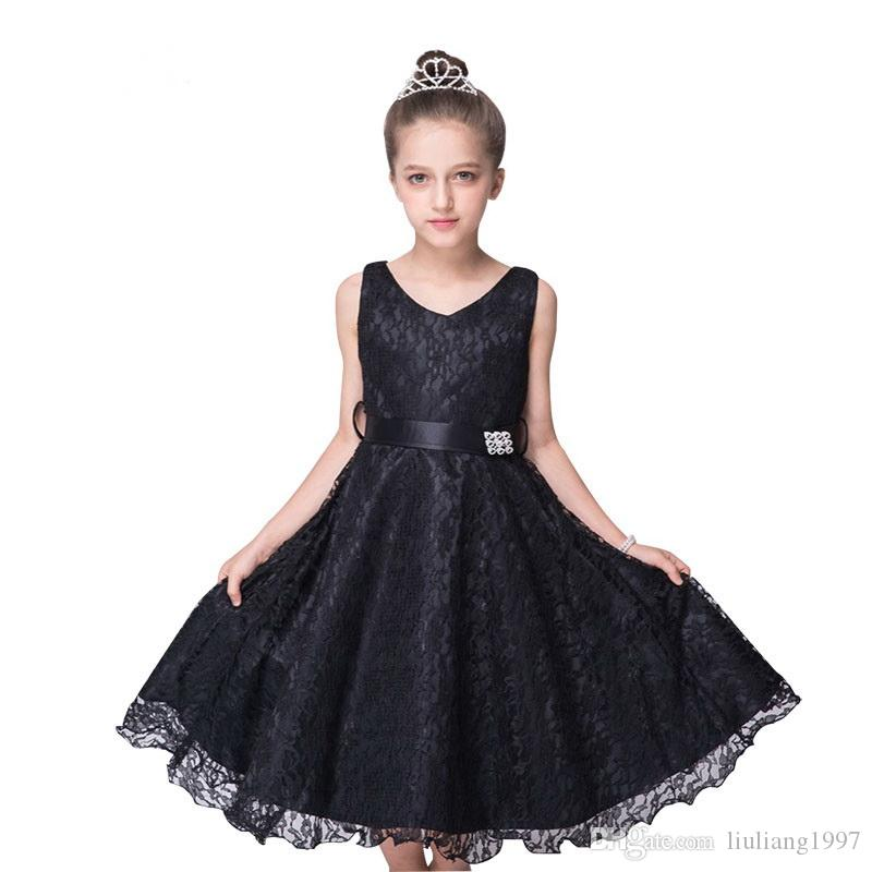 087443cca99 The New Style Of Lace Tank Flower Girl Dresses In The 2 To 14 Year Olds In  The Children S Clothing Clothing 2018 Wedding Dress For Girls Beach Flower  Girl ...