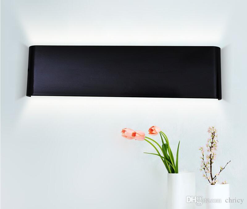 2016 new design Modern 58cm Long 20W Aluminum LED Wall Lamps for livingroom bathroom as Decoration Sconce Light 90-260V lamparas de pared