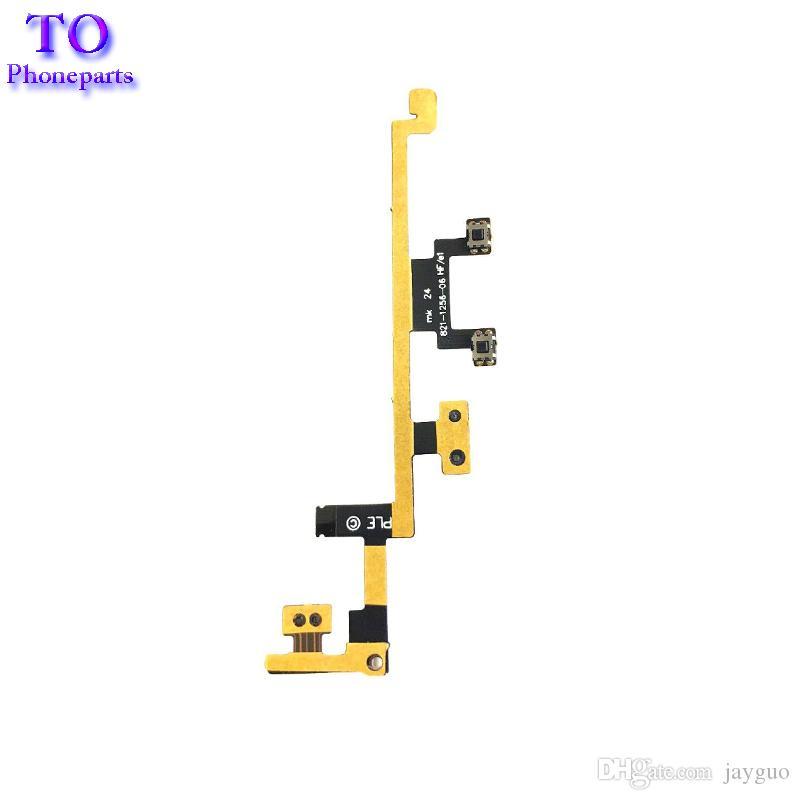 Nuovo pulsante di accensione On / Off Controllo volume Flex Cable Cable Part iPad 3 3rd Gen iPad 4 4th