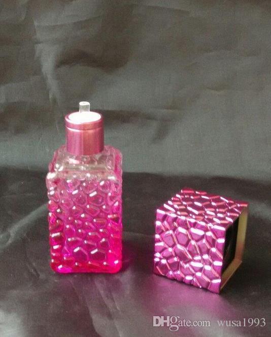 Gradient Cube alcohol lamp, send wick, color random delivery, wholesale glass hookah accessories, bong accessories, large bet