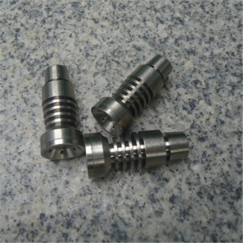 Titanium Nail pour verre Pipe Bong Domless Titanium Nail Accessoires de fumer pas cher Outils à main Vente chaude bong-GB001