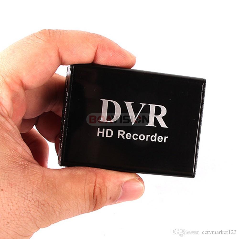 XBOX HD 1-канальный Super-Smart Mini DVR Поддержка SD-карта MPEG-4 в реальном времени Сжатие видео Balck Color
