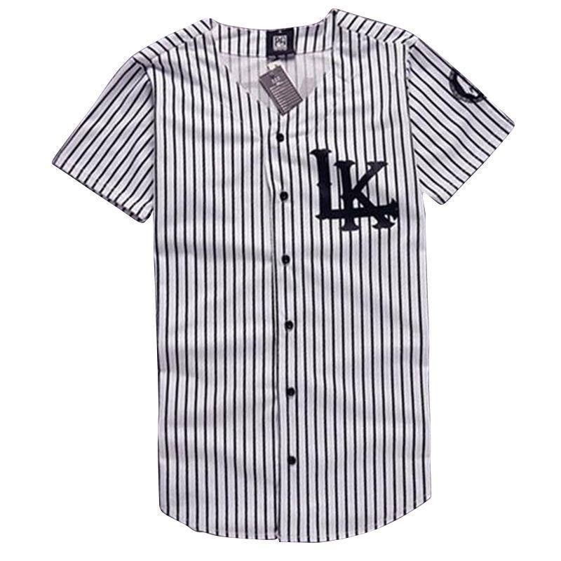 New Hip Hop Shirts KNYEW 07 DXPECHEF 99 Baseball Shirts Jersey Last King LK  Hip-hop Men Women Couples Sports Cotton Tops Shirts FG1510 T-shirt Big  T-shirt ... ae6d71345932