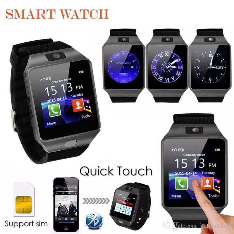 DZ09 Smart Watch Dz09 Watches Wristband Android iPhone Watch Smart SIM Intelligent Mobile Phone Sleep State heart rate blood pressure monito