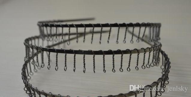 Mens metall fotboll huvudband hårband med tänder fotboll sport huvudband