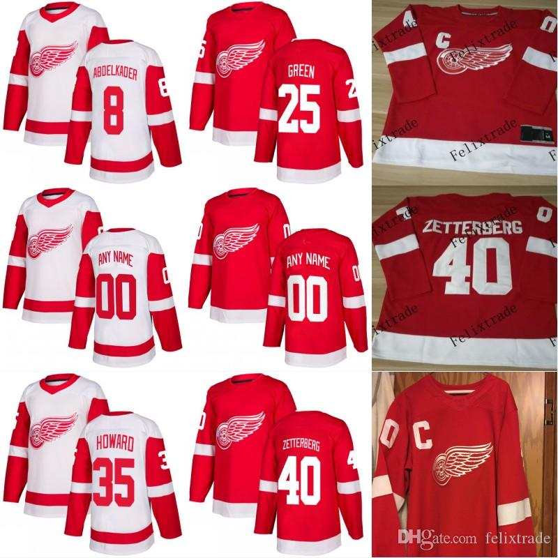 e5afc7e8318 ... reduced 2018 mens 2018 new detroit red wings jerseys 25 mike green 8  justin abdelkader 40