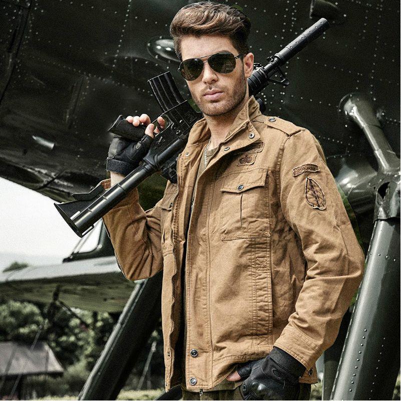 M 6xl Military Jacket Men Bomber Jacket Mens Jackets And Coats ...