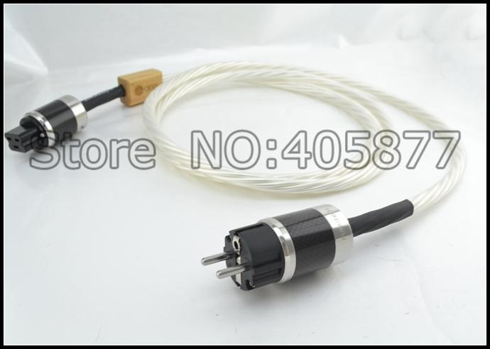 2M Nordost Odin Supreme Reference EUR Schuko Power Cord With Furutech  Carbon fiber 20A Power IEC Connector