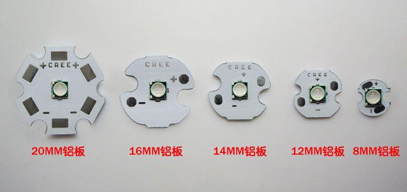 Epileds 3W UV 430-435NM 3.4-3.8 V 700ma вело свет Обломока 8MM / 12MM / 14MM / 16MM / 20MM