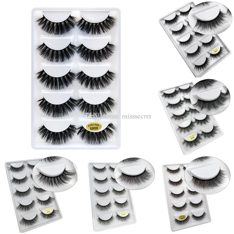 d94875def16 Natural False Eyelashes Thick 3d Mink Lashes Long Black Soft Makeup Mink  Eyelashes 3d Eyelash Extension Kit 6 Styls Lash Perfect Long Lashes From  Misssecret ...