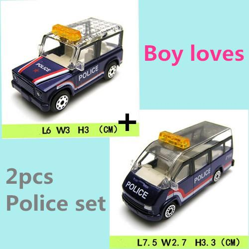 Police Jeep Mpv Car Toys For Boys Children Kids Birthday Gift Room