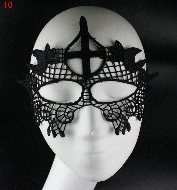 Yeni Seksi Güzel Dantel Cadılar Bayramı Masquerade Maskeleri Parti Maskeleri Venedik Parti Yarım Yüz Maskesi Ücretsiz Kargo