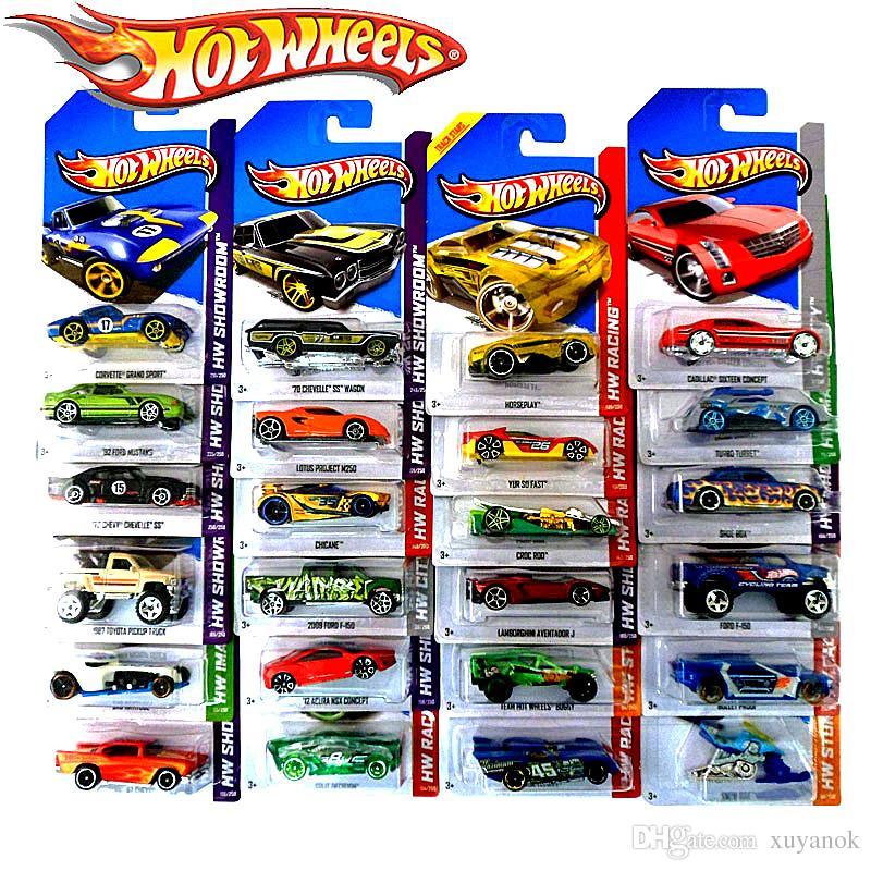 Hot Wheels Classic Cars Toys Original Boy Girl Children Toys