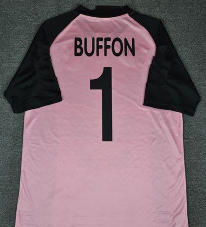 be2ea4f3e96 Retro Jerseys 2002 03 Buffon Pink Jerseys Shirt Retro Jerseys 2003 Buffon  Jersey 0203 Pink Shirt Online with  45.41 Piece on Sellbesjersey s Store