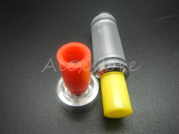 Силиконовый мундштук крышка резиновый наконечник капельного кремния одноразовые универсальный тест советы крышка с индивидуально пакет для 510 нить распылитель vape