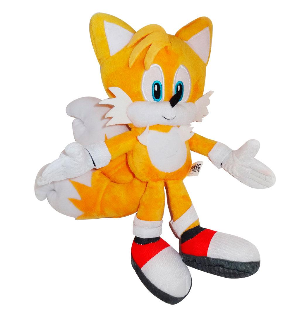Original Sonic The Hedgehog Plush Toys Fox Tails Ultimate Flash