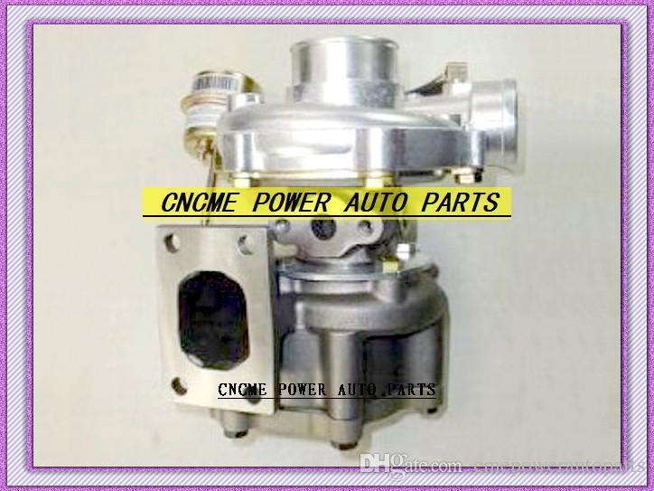 أفضل التجزئة توربو مدخل شفة T25 منفذ شفة 5 البراغي المياه المبردة توربو شاحن ضاغط a / r. 42 التوربينات a / r.49 الشاحن التربيني