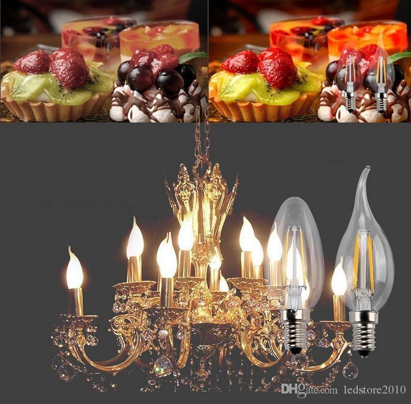 Edison Vintage 110v E26 E27 A19 A60 40w 60w Equivalent: Dimmable Filament LED E27 Clear Edison Bulb 6W A60 A19 LED