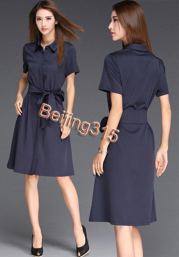 Spring Summer 2016 Fashion Women Short Sleeve Long Wind Coat ...