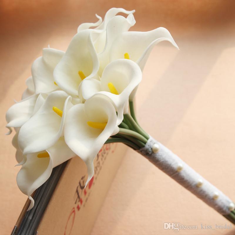 Artificial Calla Lily Bridal Bouquet Wedding Accessories Flower ...