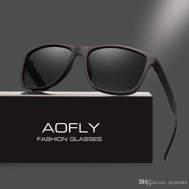 2a93c3e23e AOFLY Brand Design Polarized Sunglasses Men Driving Sun Glasses ...