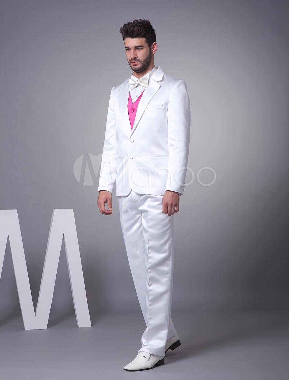 Latest Coat Pant Designs Men Suits Grooms Wears Two Buttons ...