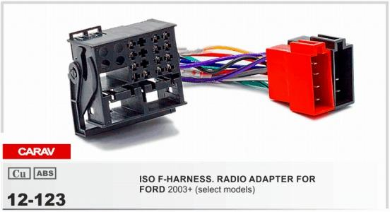 Carav12 123 Iso F Harnessradio Adapter For Ford Focusfiestafusion Rhdhgate: Ford Wiring Harness Adapter At Gmaili.net