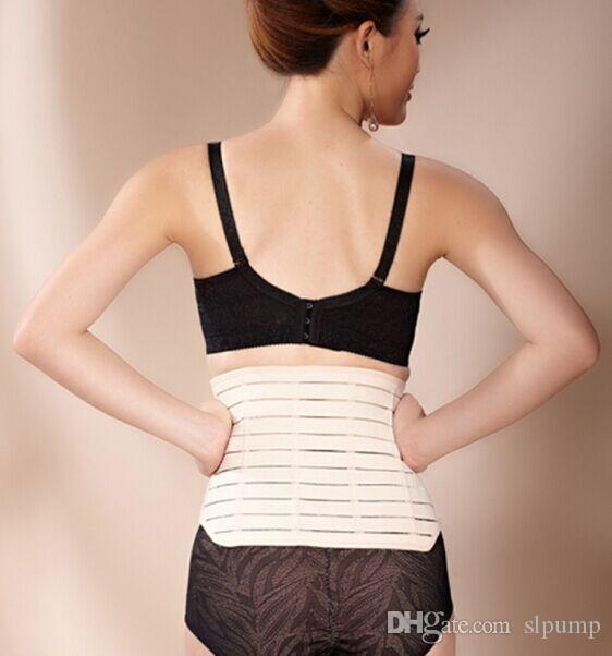 DHL libre que adelgaza Corset Belt Maternity Postpartum Corset Apoyo Recuperación Tummy Belly Waist Belt Shaper que adelgaza el cuerpo