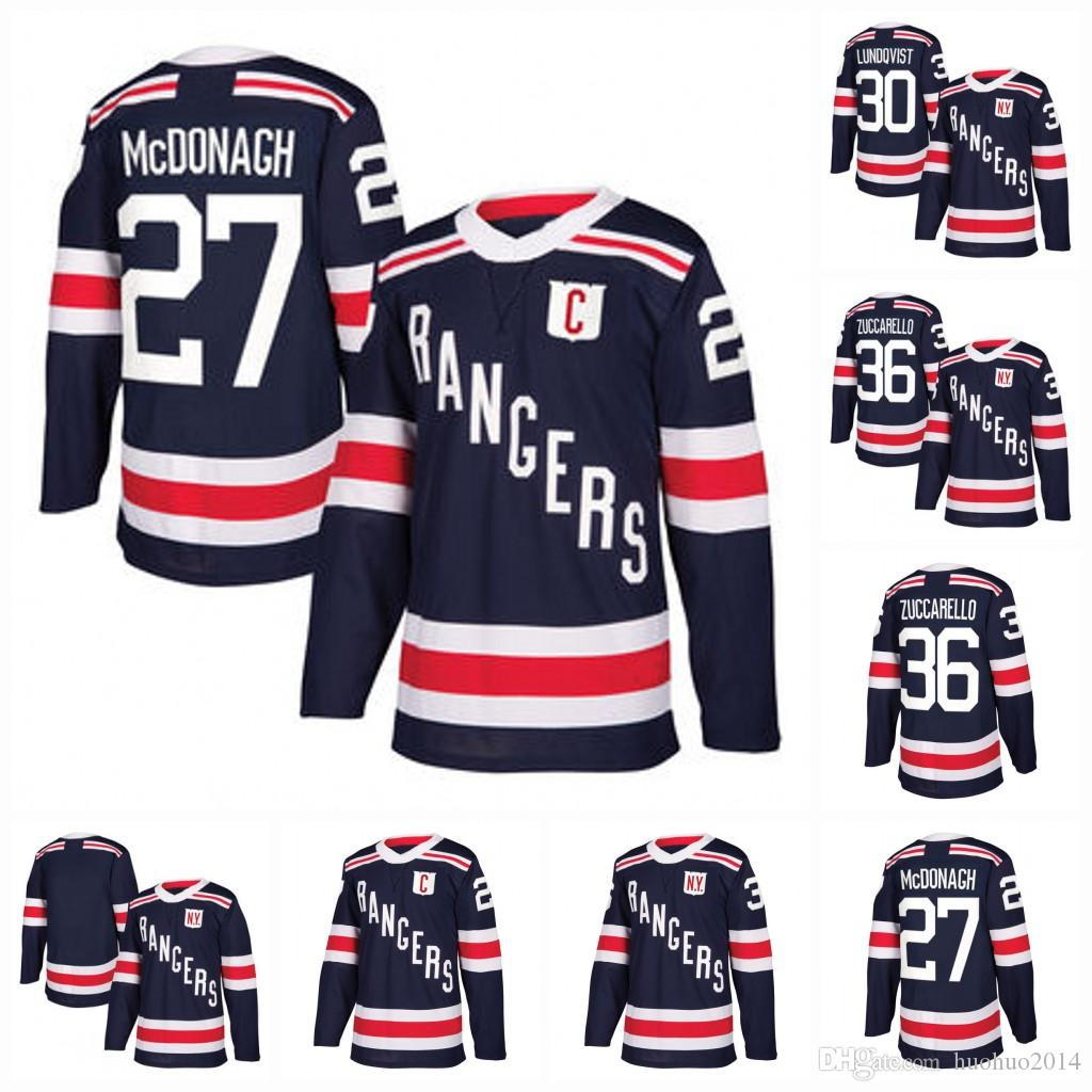 a4857c5a6 2019 2018 Winter Classic Jersey New York Rangers Men Women Youth Jesper  Fast Kevin Hayes Jesper Fast Steven Kampfer Magnus Hellberg Hockey Jersey  From ...