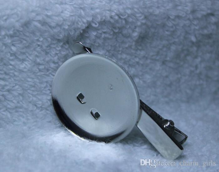 45mm 금속 브로치 헤어 악어 클립 핀 무료 배송 고품질 액세서리