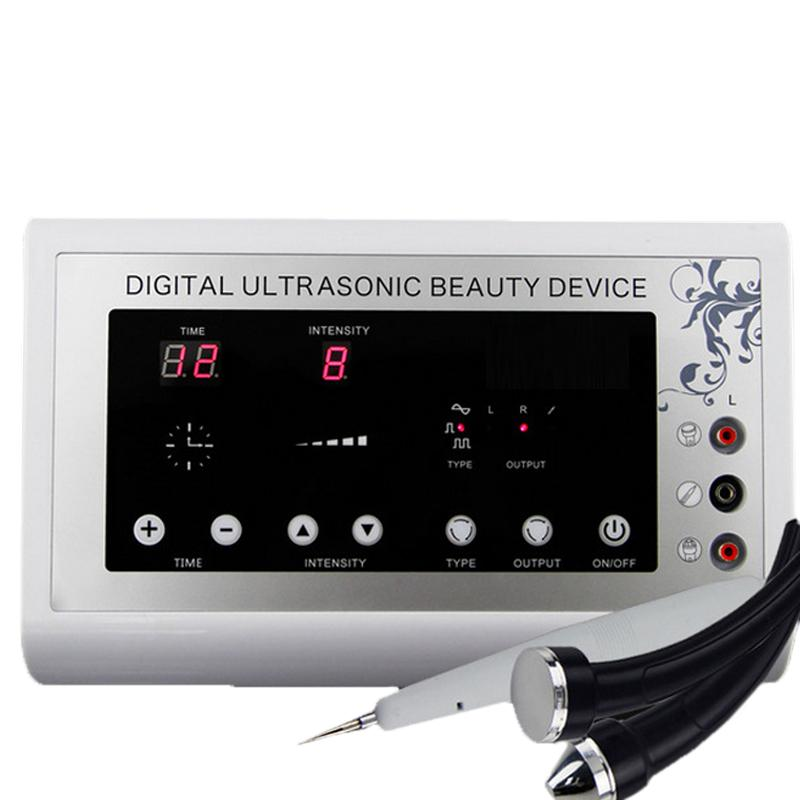 2015 3in1 1.1MHz Ultrasonic Ultrasound skin Spot remover Mole Tattoo Removal Body Therapy Face spa device Massage instrument Beauty Machine