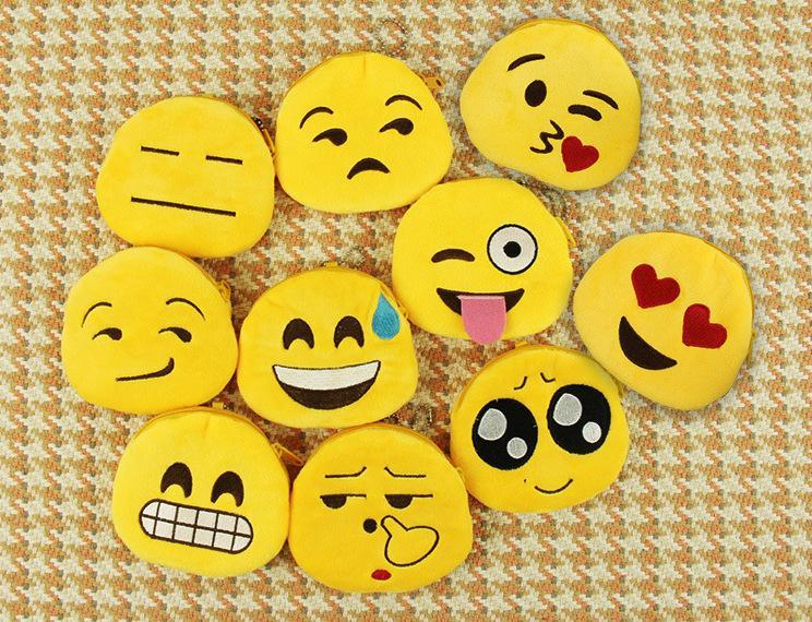 Compre Prettybaby Dibujos Animados Emociones Caras Emoji Monedero