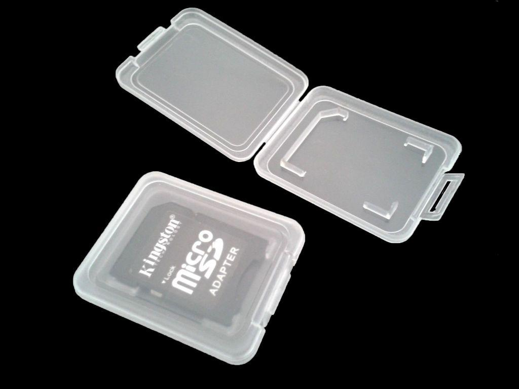 New Portable Sd Card Transparent Standard Memory Card