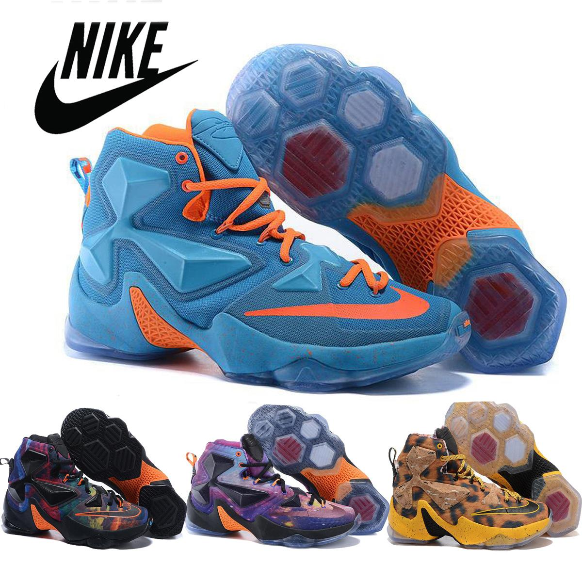 aba1cb165e9b 2016 Nike Lebron 13 XIII Akronite Philosophy Multi Color Men Basketball  Shoes