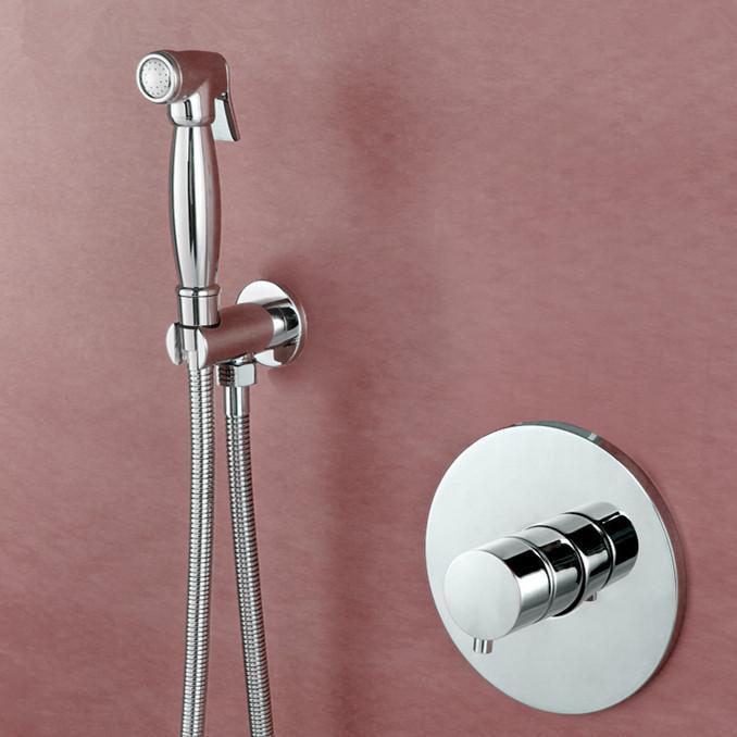 2017 2015 Rushed Luxurious Solid Brass Toilet Portable Handheld Bidet  Sprayer Douche Kit Hoy Wash Gun Douche Shower U0026 Valve From Luxbath, $111.56  | Dhgate.