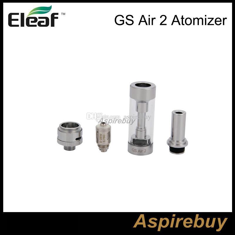 Eleaf ismoka GS Air 2 Atomizador 2 ML Tanque GS-Air 2 Dupla Bobina Atomizador Fluxo De Ar Ajustável para Eleaf istick Kit Básico
