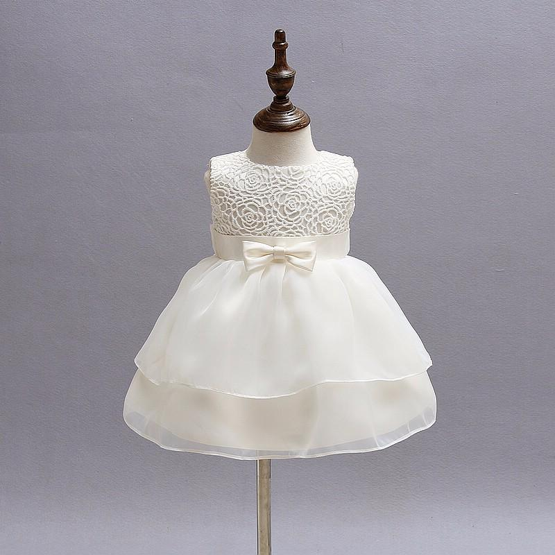 2018 1 2 Years Baby Girl Birthday Dress Vintage Little Girl Baby ...