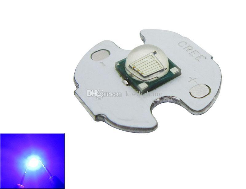 Epileds 10W Royal Blue 450-455nm 3.2-3.8V 1-3A Led Chip Ampoule lampe de 20 mm / 16 mm /