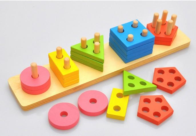 Math Toys For Kids : Children baby learning education toys kids color