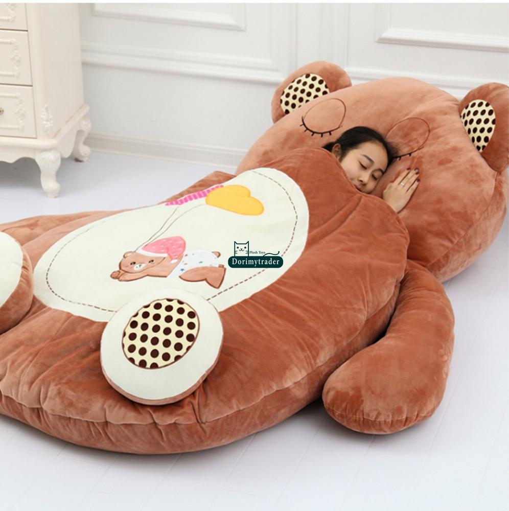 Grosshandel Dorimytrader Hot Animals Plusch Sitzsack Jumbo Schlafsack