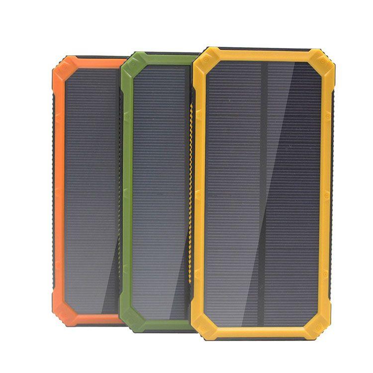 Tollcuudda 20000mAh solaire Poverbank Pour Iphone Xiaomi LG téléphone Alimentation Chargeur Portable Batterie Banque mobile Pover Banque Powerbank