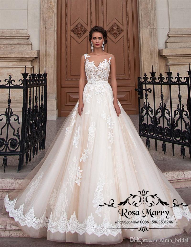 2020 Плюс Размер Свадебные платья для беременных со скидкой Line Vintage кружева чешские свадебные платья белого цвета слоновой кости сквозь спину