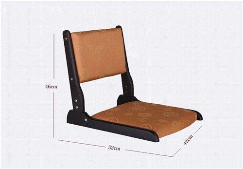 Beau 2018 Japanese Zaisu Chair Foldable Legs Black Finish Seat Pad Asian  Traditional Living Room Furniture Floor Legless Zaisu Chair Design From  Klphlp, ...