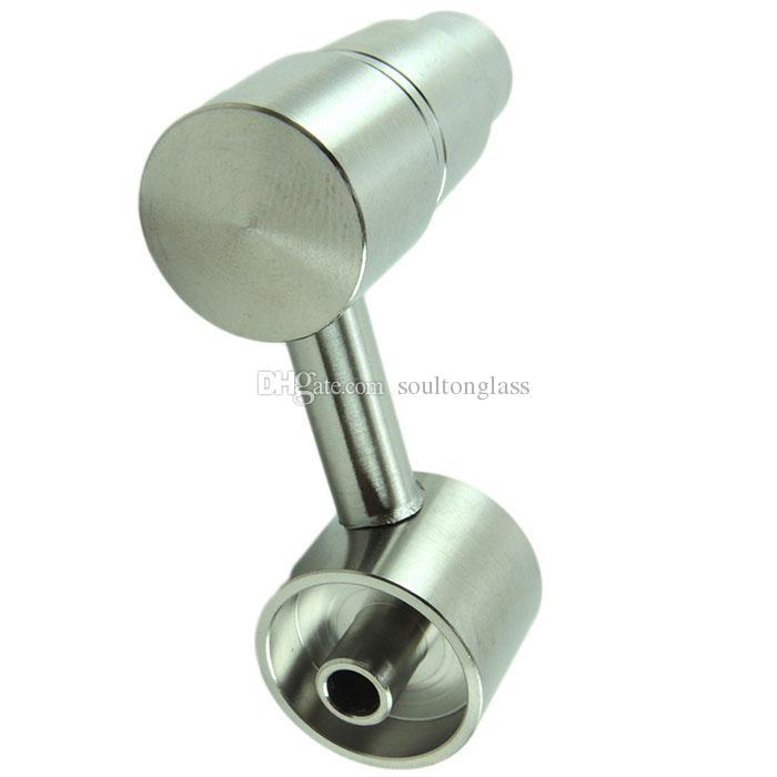 2015 Latest Soulton Glass Side Arm Dab Rig Titanium Nail Male Joint Universal 19mm 14mm Domeless Titanium Nail E Nails TN-007