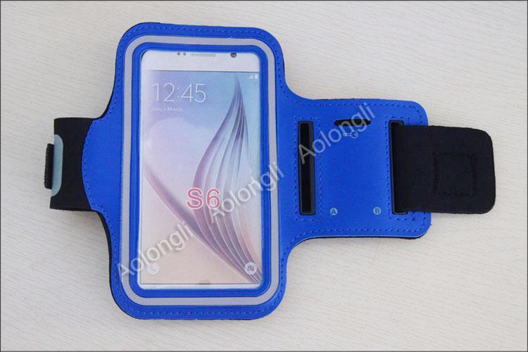 Su geçirmez Spor Telefonu Kol Bandı Egzersiz Koşu Vaka Bisiklet Kol Tutucu Kılıfı Samsung Galaxy S6 Kenar S6 S5 S4 iphone 6 4 S 5 S cep Telefonu
