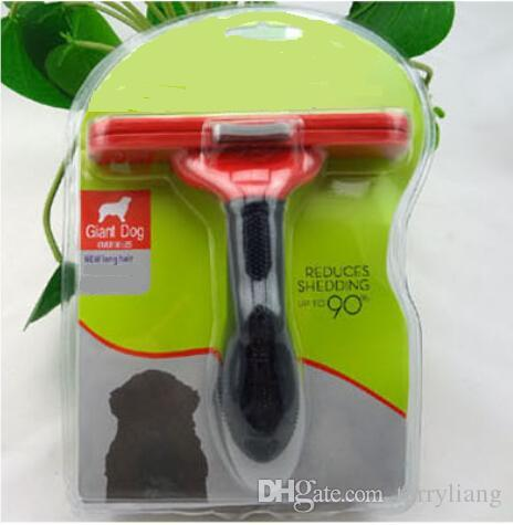 giant Dog hair Removal Comb Barber Epilator For Dogs Cats Pets Machine comb cleaning Trimming Hair Dog Brush Grooming shedding Tool