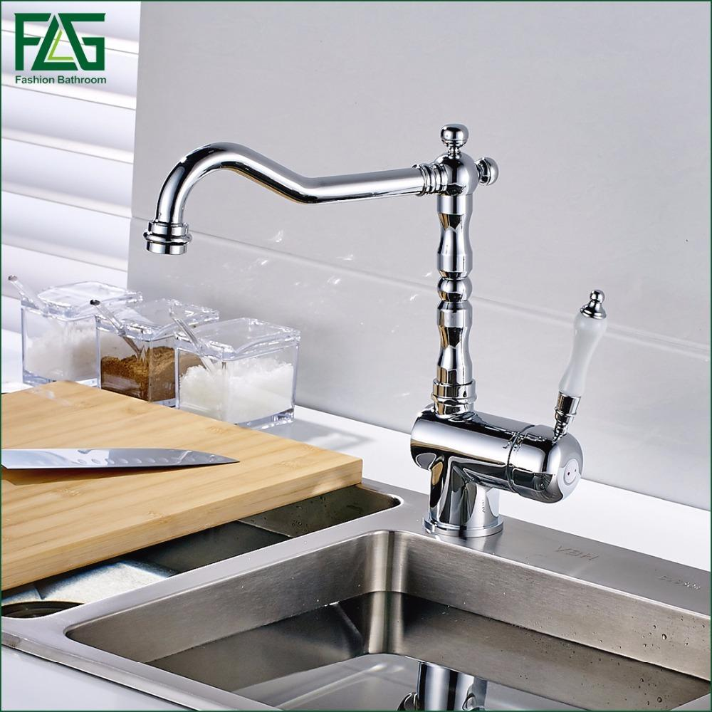 2018 Luxury Rotating Hot And Cold Taps Kitchen Faucet Faucets ...