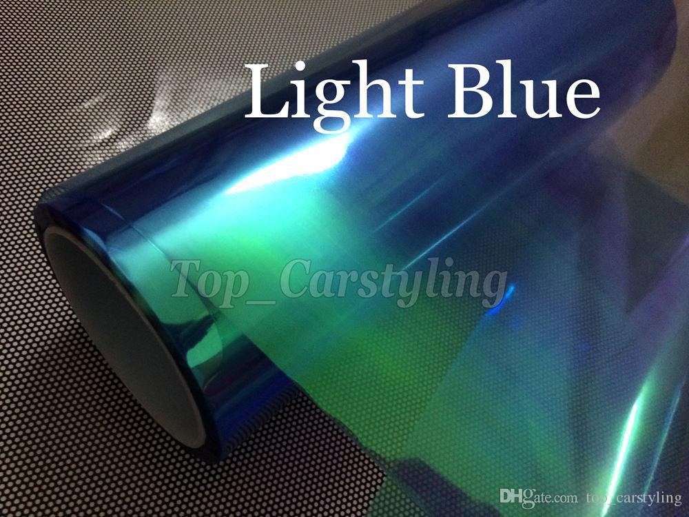 카멜레온 1 헤드 라이트 틴트 필름 후방 차량 라이트 틴팅 라이트 테일 라이트 색조 크기 0.3x10m / 롤 무료 배송